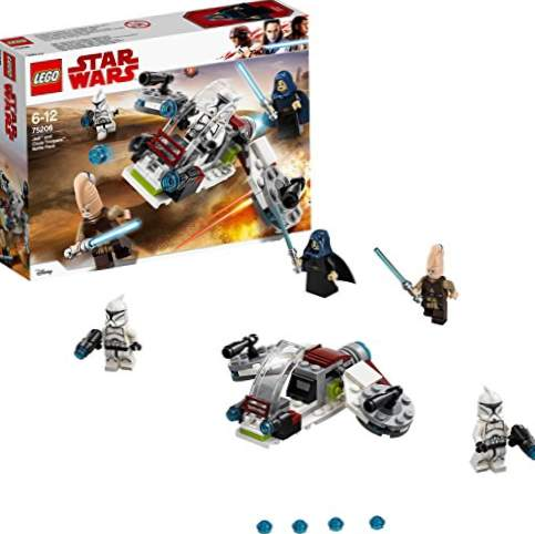 LEGO Star Wars - Combat Pack: Jedi and Clone Soldiers (75206) Building Game