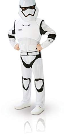 Star Wars, Villain Trooper Costume, Afsnit 7, Deluxe for børn (Rubies 62026), M (5/6 år)