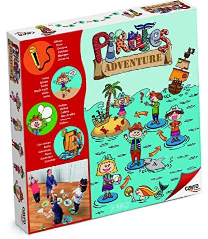Pirate Adventure Game Board