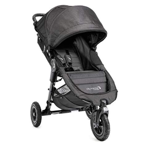 Baby Jogger City Mini GT - Klapvogn, sort denim