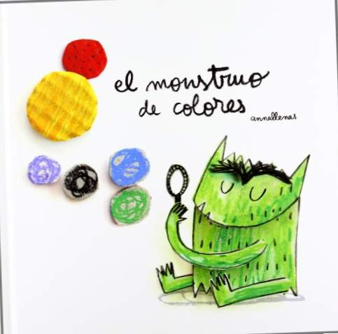 The monster of colours (edizione album illustrato, non versione pop-up) (Tales (sgargiante))