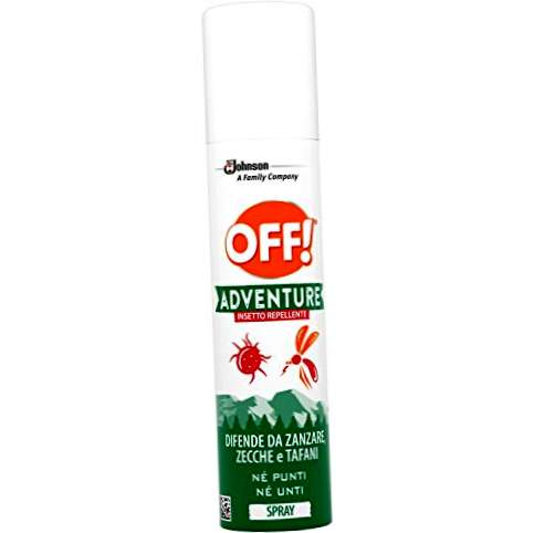 Fuori! Adventure - Spray Repellent Insect - 2 confezioni da 100 ml