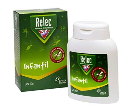 Antimosquitos Relec Infantil Effective Repellent Lotion. Enfants à partir de 2 ans - 125 ml