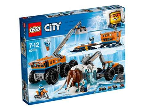 LEGO Arctic City: base d'exploration mobile (60195)