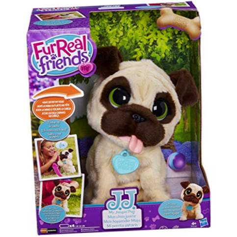 FurReal Friends Plush J.J. Mon chiot saute (Hasbro B0449EU4)