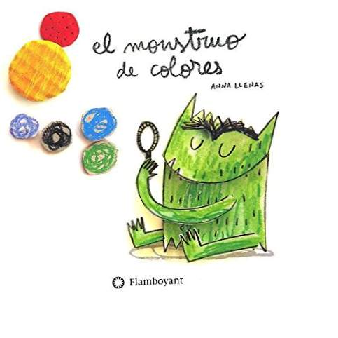 Le monstre coloré, en carton