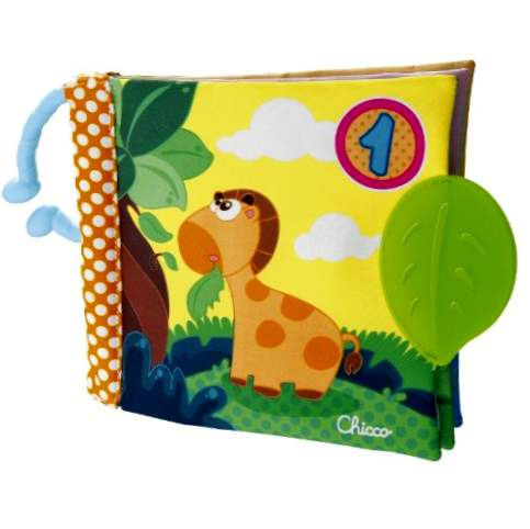 Chicco - Bog 1 2 3, illustreret med teether