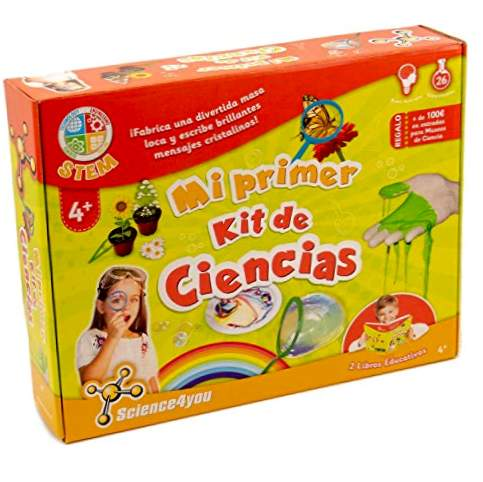 Science4you-Play my First Science Kit 26 experiment (+4 år), (600270)