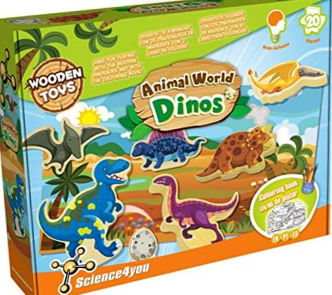 Science4you - Animal World Dinos, pedagogiskt leksak (488196)