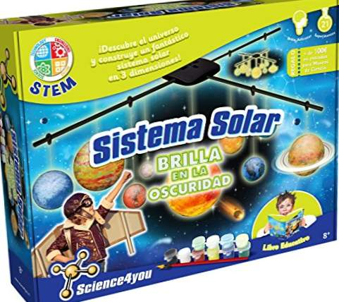 Science4you-sol solsystem, 8 a & ntildeos (600065)