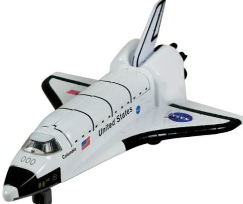 NASA Space Shuttle Backspace [Toy]