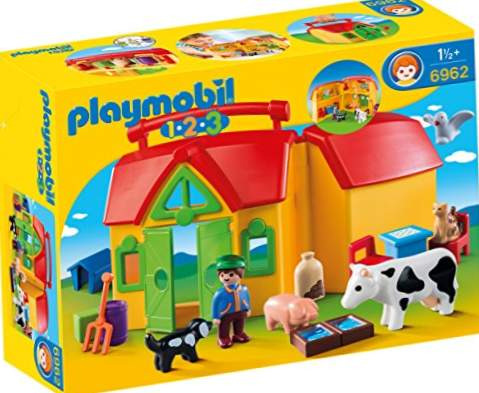 Playmobil 1.2.3 - 1.2.3 My First Farm (6962)