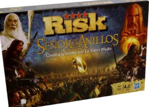 Hasbro Gaming Risk - Ringenes herre, brädspel (Eleven Force 82011)
