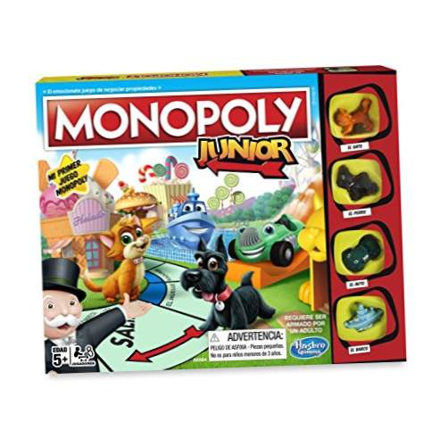 Monopol- Junior, spansk version (Hasbro A6984546)