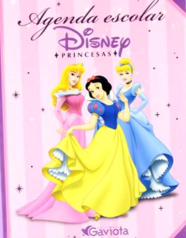 Disney Princesses School Agenda (Disney Princesses / Pappbøger)