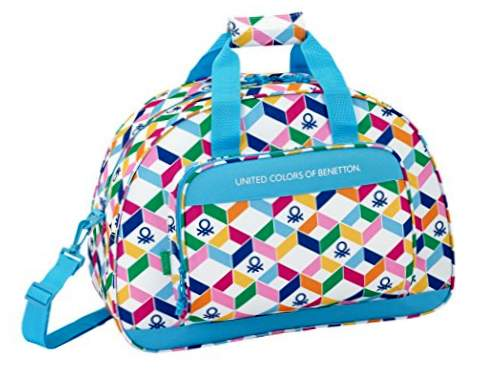 "Safta Sportsbag Benetton ""Geometrisk"" Official 480x210x330mm"
