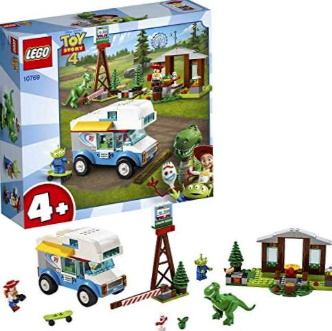 LEGO 4+ Toy Story 4: Motorhome Vacations, Construction Toy per ricreare le avventure dei personaggi dei film Pixar (10769)