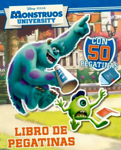 Università dei mostri. Libro di adesivi (Disney. Monsters University)