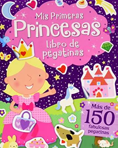 ADESIVI FANTASIA: My First Princesses: 4 (Fantasy Stickers)
