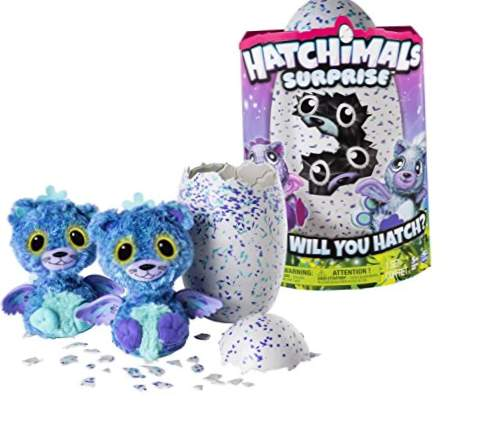 Spin Master Hatchimals Surprise Purple Teal Egg