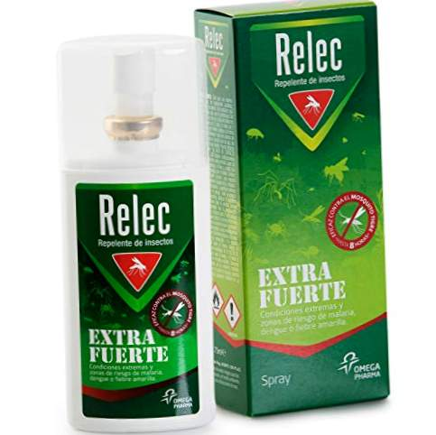 Relec Extra Strong Spray Efficace Anti-moustiques DEET 50%. Anti-moustique - 75 ml