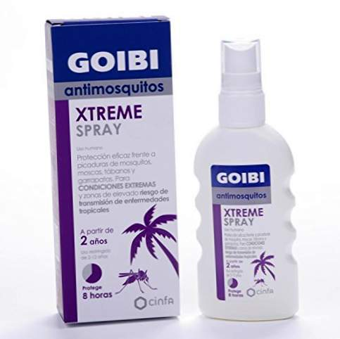 GOIBI XTREME ANTIMOSQUITOS LOTION REPELENT TROPICAL 75 ML